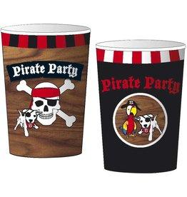 Bekers Piraten (8 stuks)