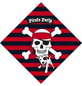 Servetten Piraten (33x33cm, 20 stuks)
