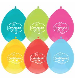 Ballonnen Communie (6 stuks)