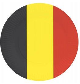 Bordjes België (23cm, 8 stuks)