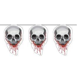 Vlaggenlijn Skulls, Halloween (6 m)