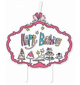 Jill Kaarsjes Happy Birthday