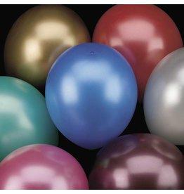 Ballonnen Metallic Assorti (30 cm, 10 stuks)