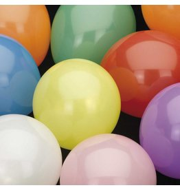 Ballonnen Uni Assorti (30 cm, 100 stuks)