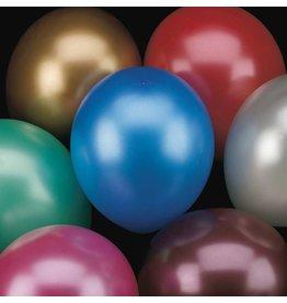 Ballonnen Metallic Assorti (30 cm, 50 stuks)