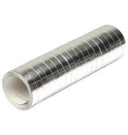 Serpentines Metalic Zilver (4 m)