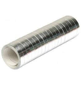 Serpentines Metallic Zilver (4 m)
