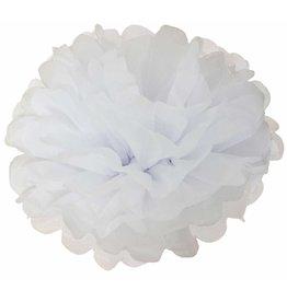 Pompons DIY Wit (25 + 35 cm)