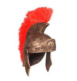 Helm romein luxe, Goud-Rood