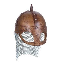 Helm viking luxe, Goud-Zilver