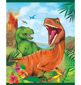 Uitdeelzakjes Dinosaurus (8 stuks)
