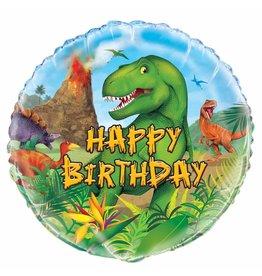 Folie Ballon Dinosaurus (45 cm)