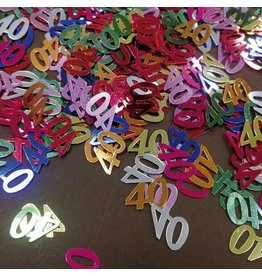 Confetti Cijfer 40 (15 gram)