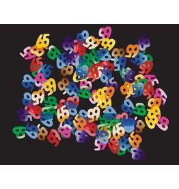 Confetti Cijfer 65 (15 gram)