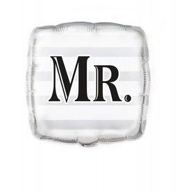 "Folie ballon Wedding ""Mr"""