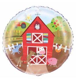 Folie ballon Farm party