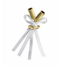 12 Gold Mini Flute Champagne Favor