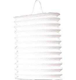 Lampion wit 16 cm