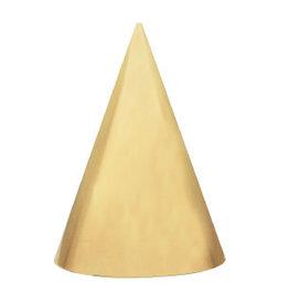 Hoedjes Festive Gold 6 stuks