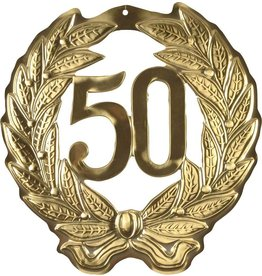 Huldeschild  Goud 50