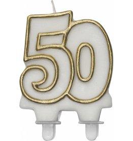 Cijferkaars Goud 50 Jaar