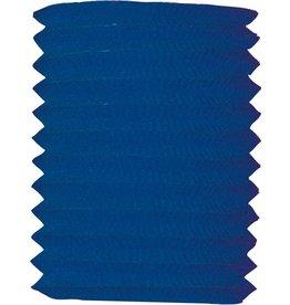 Lampion donkerblauw 16 cm