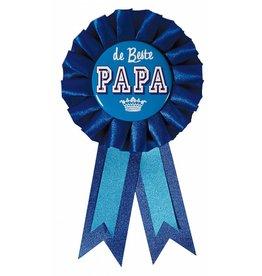 Rozet Blauw De Beste Papa