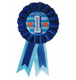 Rozet Blauw 1st Birthday