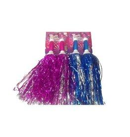 TeamGirl Metallic Pompon Roze/Blauw