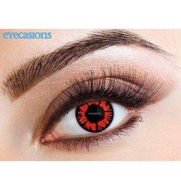 """Eyecasions Kleur Contactlenzen, """"Explosion Red"""""""
