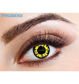 """Eyecasions Kleur Contactlenzen, """"Explosion Yellow"""""""