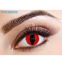 Eyecasions Kleurlenzen Red Cat