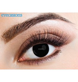 "Eyecasions Kleur Contactlenzen, ""Black Magic"""