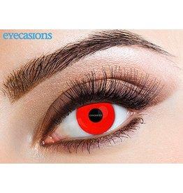 """Eyecasions Kleur Contactlenzen, """"Red Devil"""""""