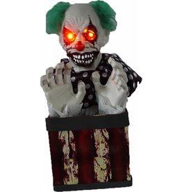 Animated Clown in Box