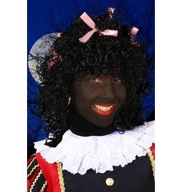 Pruik Pepita, Zwart-Roze
