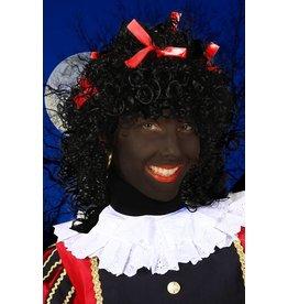 Pruik Pepita, Zwart-Rood