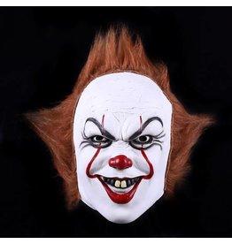 """Masker """"Scary Clown"""", mix van kleuren"""