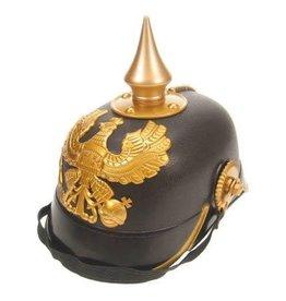 Helm keizer zwart/goud