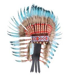 """Indianentooi """"Sioux"""" deluxe lang, mix van kleuren"""