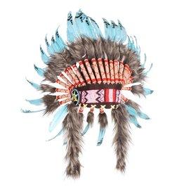 """Indianentooi """"Apache"""" deluxe, mix van kleuren"""