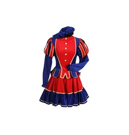 Damespiet Murcia rood/blauw