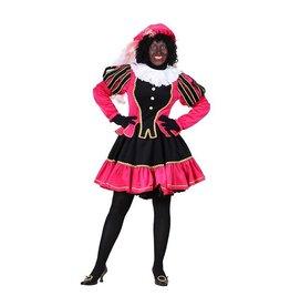 Damespiet Murcia zwart/roze