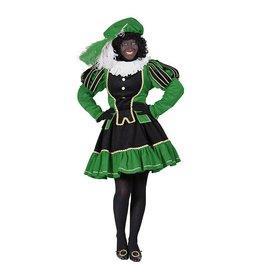 Damespiet Murcia zwart/groen