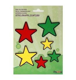 Applicaties sterren rood/geel/groen