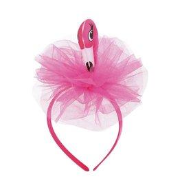 Diadeem Flamingo met tule