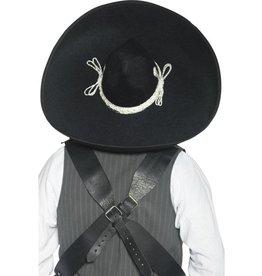 Authentieke Mexicaanse Sombrero, zwart