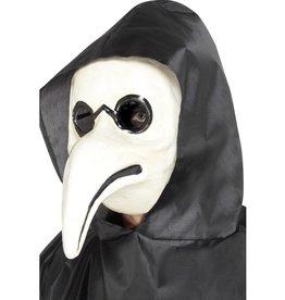 Middeleeuws pest dokter masker.