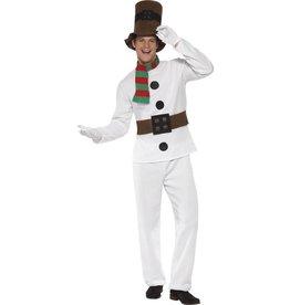 Mr Snowman Kostuum,