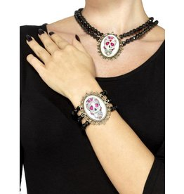 Day of the Dead , armband en ketting.